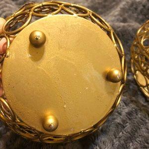 Accents - Gold candle votives